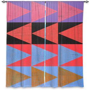 Decorative Window Treatments | Hooshang Khorasani - Three Dozen | geometry pattern triangle repetition