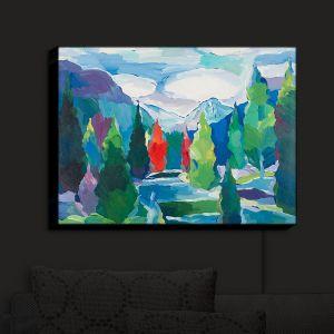 Nightlight Sconce Canvas Light   Hooshang Khorasani - Whispering River