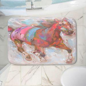 Decorative Bathroom Mats | Hooshang Khorasani - Wind Racer Horses