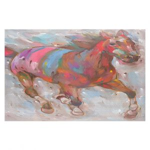 Decorative Floor Coverings | Hooshang Khorasani Wind Racer Horse