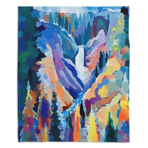 Decorative Fleece Throw Blankets | Hooshang Khorasani - Yellowstone