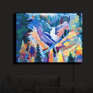 Nightlight Sconce Canvas Light | Hooshang Khorasani's Yellowstone