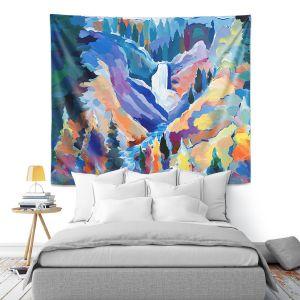 Artistic Wall Tapestry   Hooshang Khorasani Yellowstone