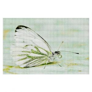Decorative Area Rug 2 x 3 Ft from DiaNoche Designs byIris Lehnhardt - Butterfly