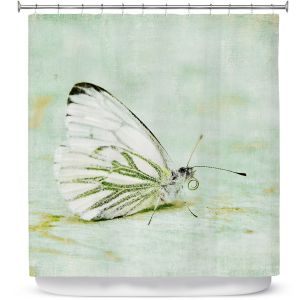 Unique Shower Curtain from DiaNoche Designs by Iris Lehnhardt - Butterfly