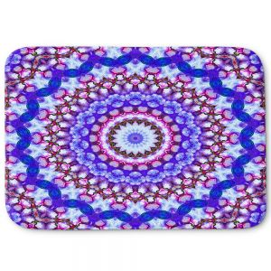 Decorative Bath Mat Small from DiaNoche Designs by Iris Lehnhardt - Color Wheel II