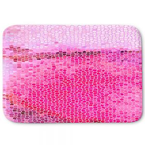 Decorative Bath Mat Small from DiaNoche Designs by Iris Lehnhardt - Coral Pink