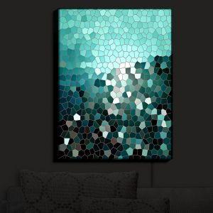 Unique Illuminated Wall Art 20 x 16 from DiaNoche Designs by Iris Lehnhardt - Patternization V
