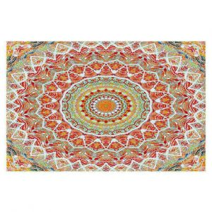 Decorative Area Rug 4 x 6 ft from DiaNoche Designs by Iris Lehnhardt - Summer Lace