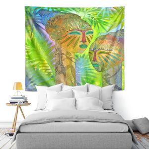 Artistic Wall Tapestry | Jennifer Baird African Forest Queens