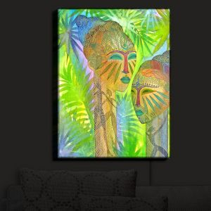 Nightlight Sconce Canvas Light | Jennifer Baird's African Forest Queens