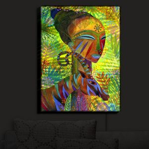 Nightlight Sconce Canvas Light | Jennifer Baird's African Queens