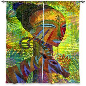 Decorative Window Treatments | Jennifer Baird African Queens