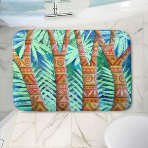 Decorative Bathroom Mats | Jennifer Baird - Amerindian Forest | Nature Trees Forest