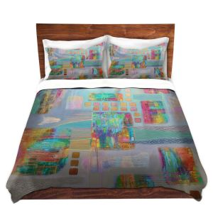 Artistic Duvet Covers and Shams Bedding | Jennifer Baird - Bleedthrough II