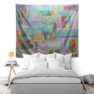 Artistic Wall Tapestry | Jennifer Baird Bleedthrough II
