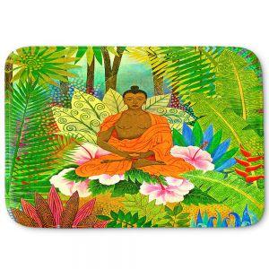 Decorative Bathroom Mats | Jennifer Baird - Buddha in the Jungle