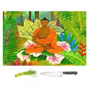 Artistic Kitchen Bar Cutting Boards | Jennifer Baird - Buddha in the Jungle