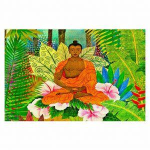 Decorative Floor Coverings | Jennifer Baird Buddha in the Jungle
