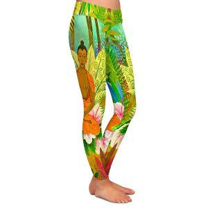 Casual Comfortable Leggings | Jennifer Baird Buddha in the Jungle