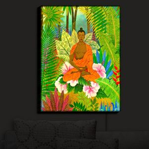 Nightlight Sconce Canvas Light | Jennifer Baird's Buddha in the Jungle