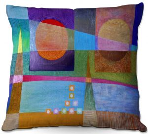 Throw Pillows Decorative Artistic | Jennifer Baird - Change of Season | abstract pattern landscape