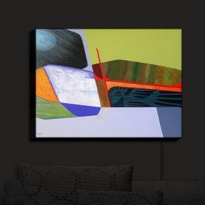 Nightlight Sconce Canvas Light | Jennifer Baird - Deep Time 7 | abstract surreal shapes