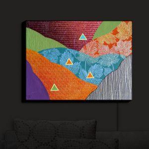 Nightlight Sconce Canvas Light | Jennifer Baird - Depth Height | abstract surreal shapes