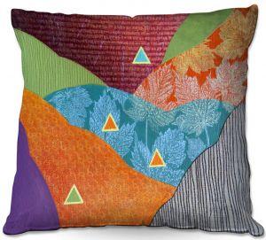 Throw Pillows Decorative Artistic   Jennifer Baird - Depth Height   abstract surreal shapes