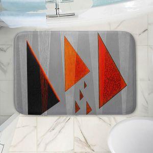 Decorative Bathroom Mats | Jennifer Baird - Drift | abstract surreal shapes