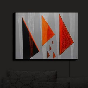 Nightlight Sconce Canvas Light | Jennifer Baird - Drift | abstract surreal shapes