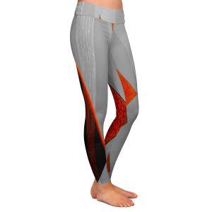 Casual Comfortable Leggings | Jennifer Baird - Drift | abstract surreal shapes