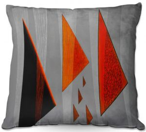 Throw Pillows Decorative Artistic | Jennifer Baird - Drift | abstract surreal shapes