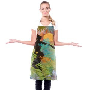 Artistic Bakers Aprons | Jennifer Baird - Eagle Woman 1 | silhouette abstract surreal nature