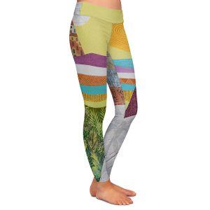 Casual Comfortable Leggings   Jennifer Baird - Emergence   City Ocean Sun Nature People