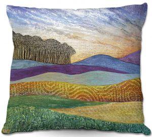 Throw Pillows Decorative Artistic   Jennifer Baird's Evening Glow