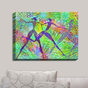 Decorative Canvas Wall Art | Jennifer Baird - Freedom in the Rain forest