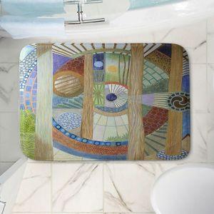 Decorative Bathroom Mats | Jennifer Baird - House of the Meditator