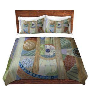 Artistic Duvet Covers and Shams Bedding | Jennifer Baird - House of the Meditator