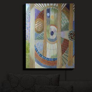Nightlight Sconce Canvas Light | Jennifer Baird - House of the Meditator | Abstract Nature