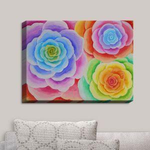 Decorative Canvas Wall Art | Jennifer Baird - Joyous Flowers I