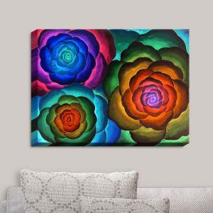 Decorative Canvas Wall Art | Jennifer Baird - Joyous Flowers II