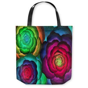 Unique Shoulder Bag Tote Bags | Jennifer Baird Joyous Flowers III