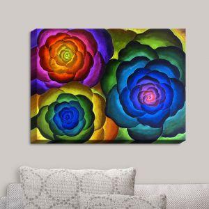 Decorative Canvas Wall Art | Jennifer Baird - Joyous Flowers IV