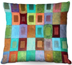 Throw Pillows Decorative Artistic | Jennifer Baird - Light Colour | pattern simple rectangle square