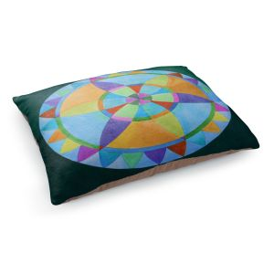 Decorative Dog Pet Beds | Jennifer Baird's Mandala I A