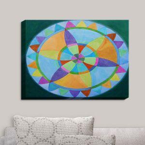 Decorative Canvas Wall Art | Jennifer Baird - Mandala I A