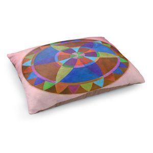 Decorative Dog Pet Beds | Jennifer Baird's Mandala I B