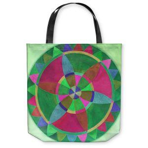 Unique Shoulder Bag Tote Bags | Jennifer Baird Mandala I C