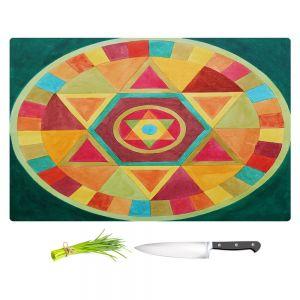 Artistic Kitchen Bar Cutting Boards | Jennifer Baird - Mandala II A